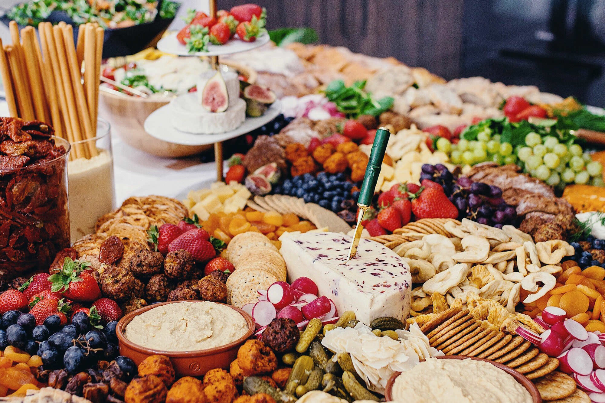 Berry and Brie - Wedding Grazing Tables + Platters - London + UK