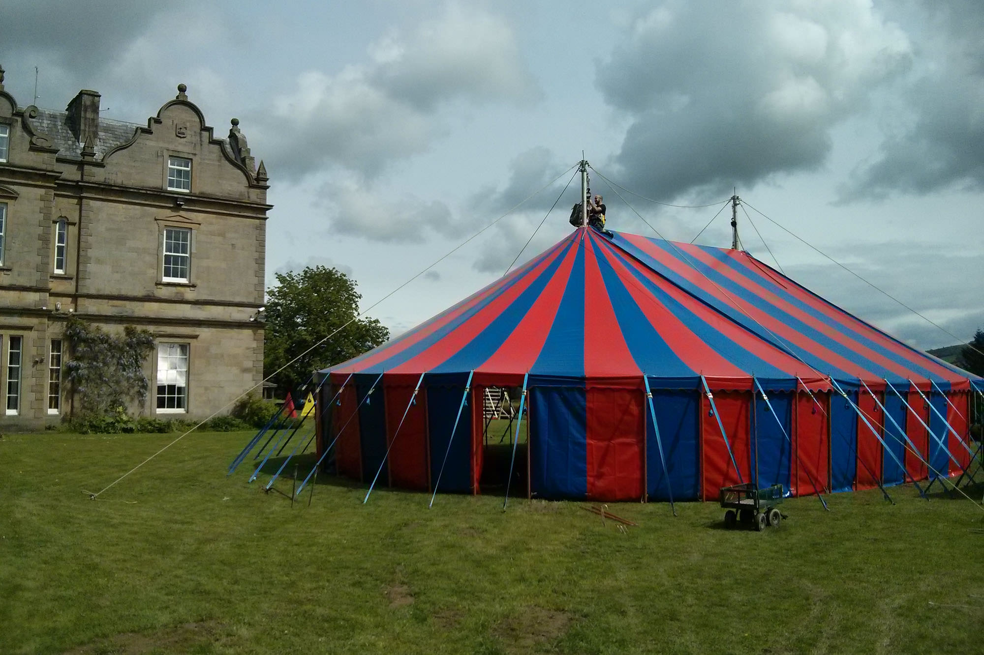 Big Top Weddings - Unique, Alterntaive Circus tent hire