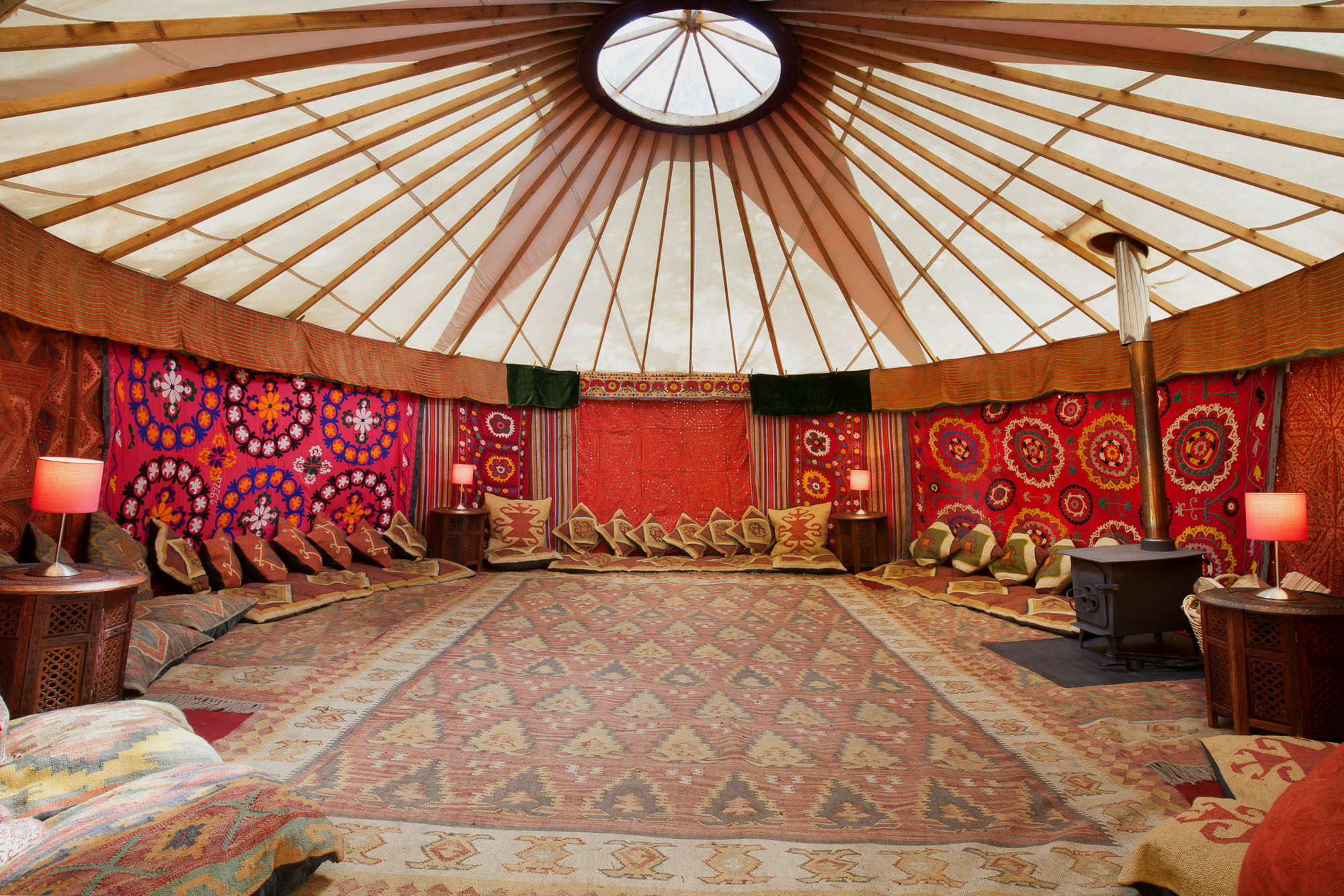 decorative yurts for hire