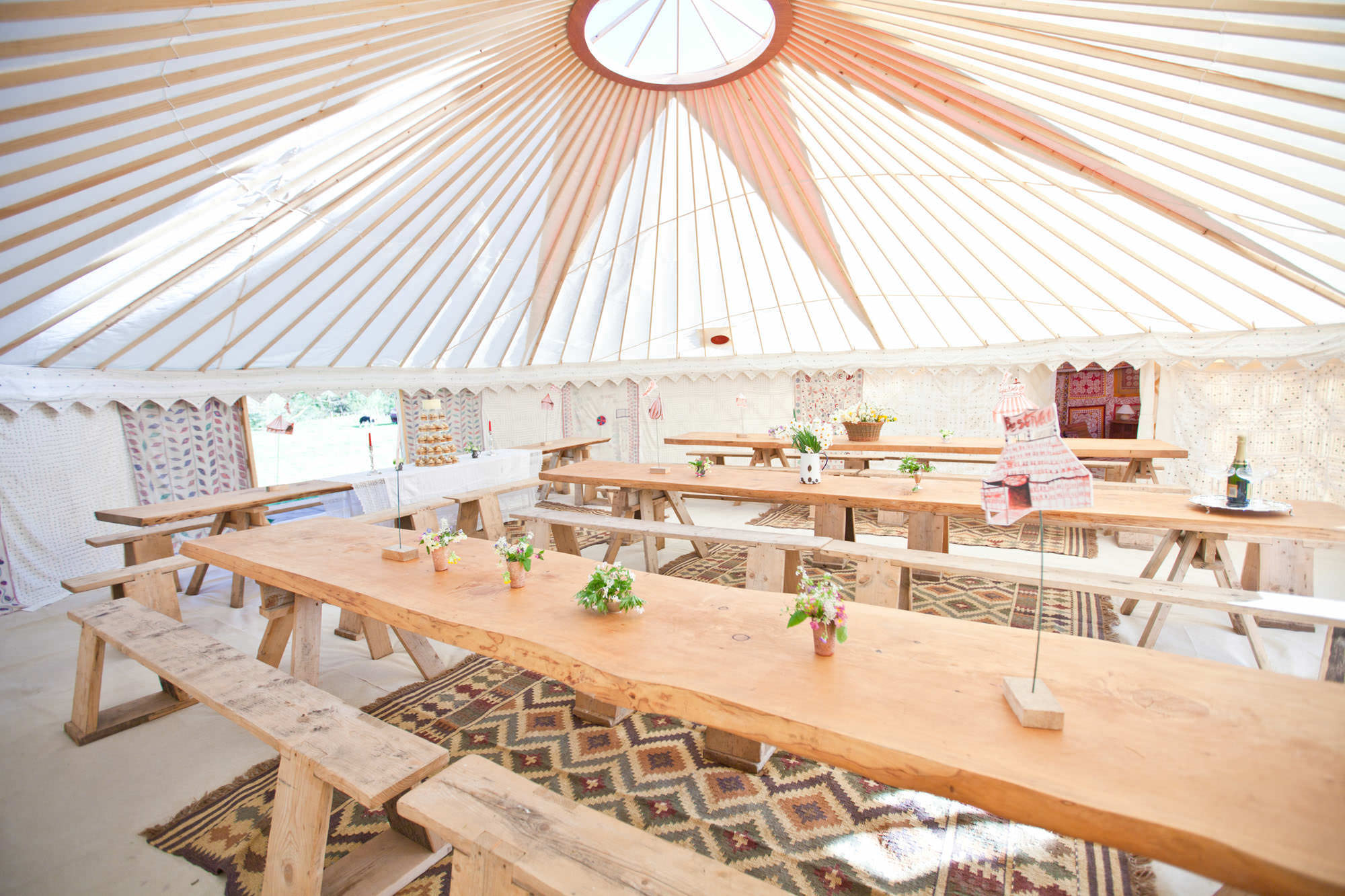 yurt hire for weddings and events
