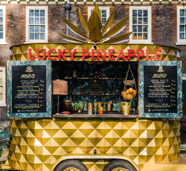Lucky Pineapple Mobile bar London