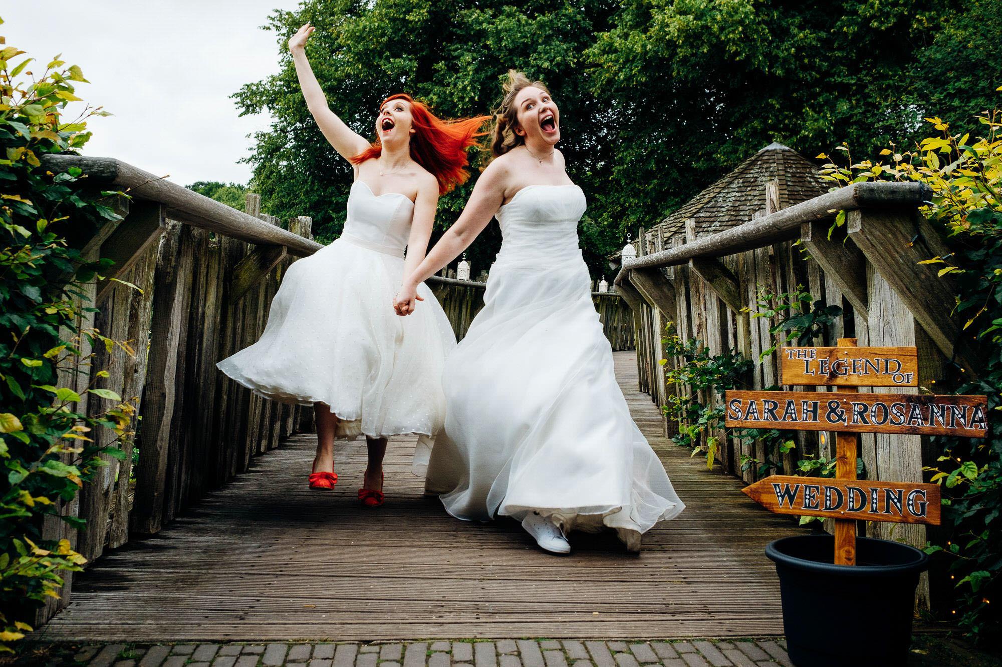 Marianne Chua - fun, documentary wedding photography - UK + Des