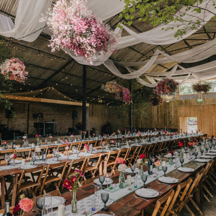 Happy Valley Norfolk - woodland wedding venue with barn