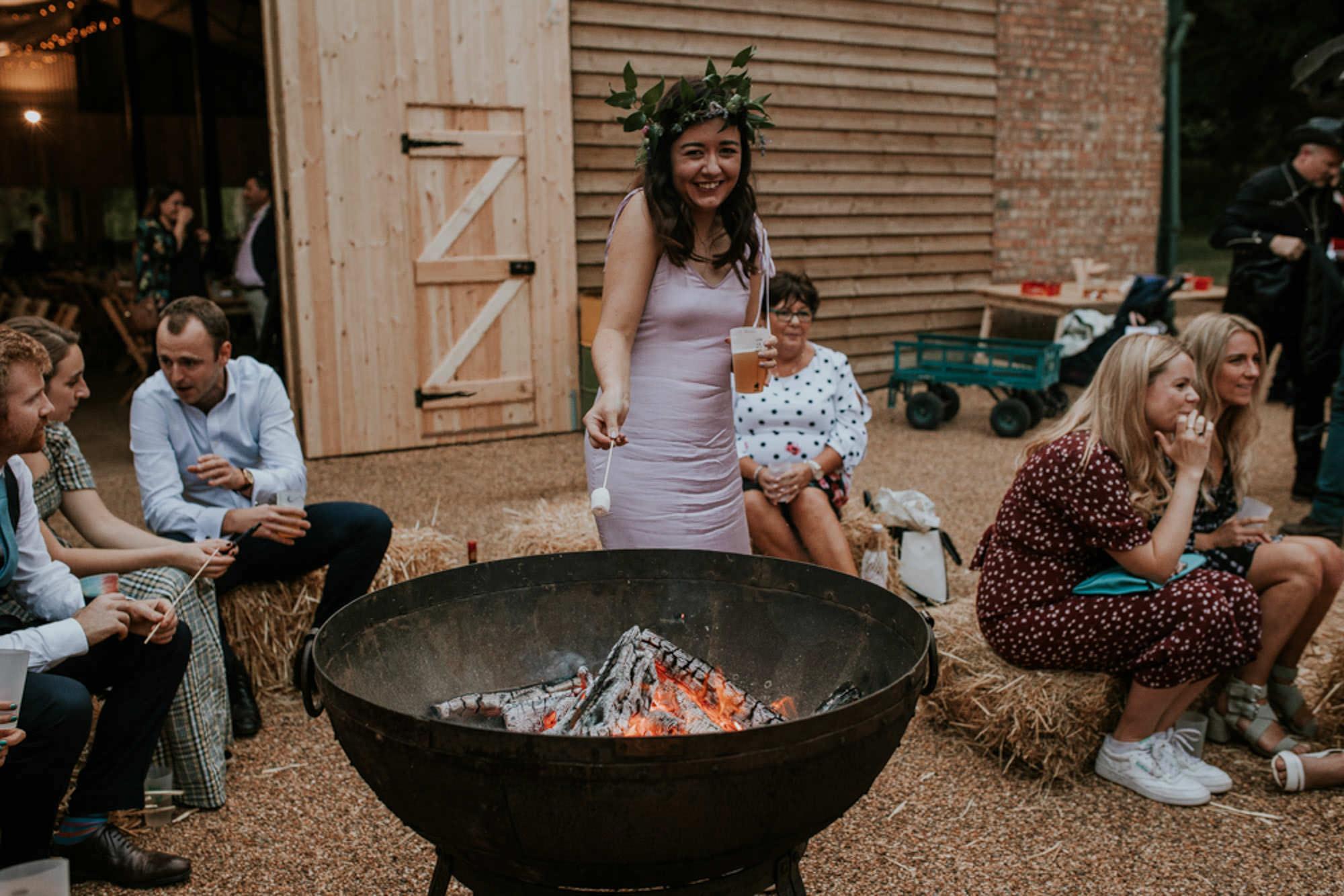 Happy Valley Norfolk - woodland wedding venue with barn