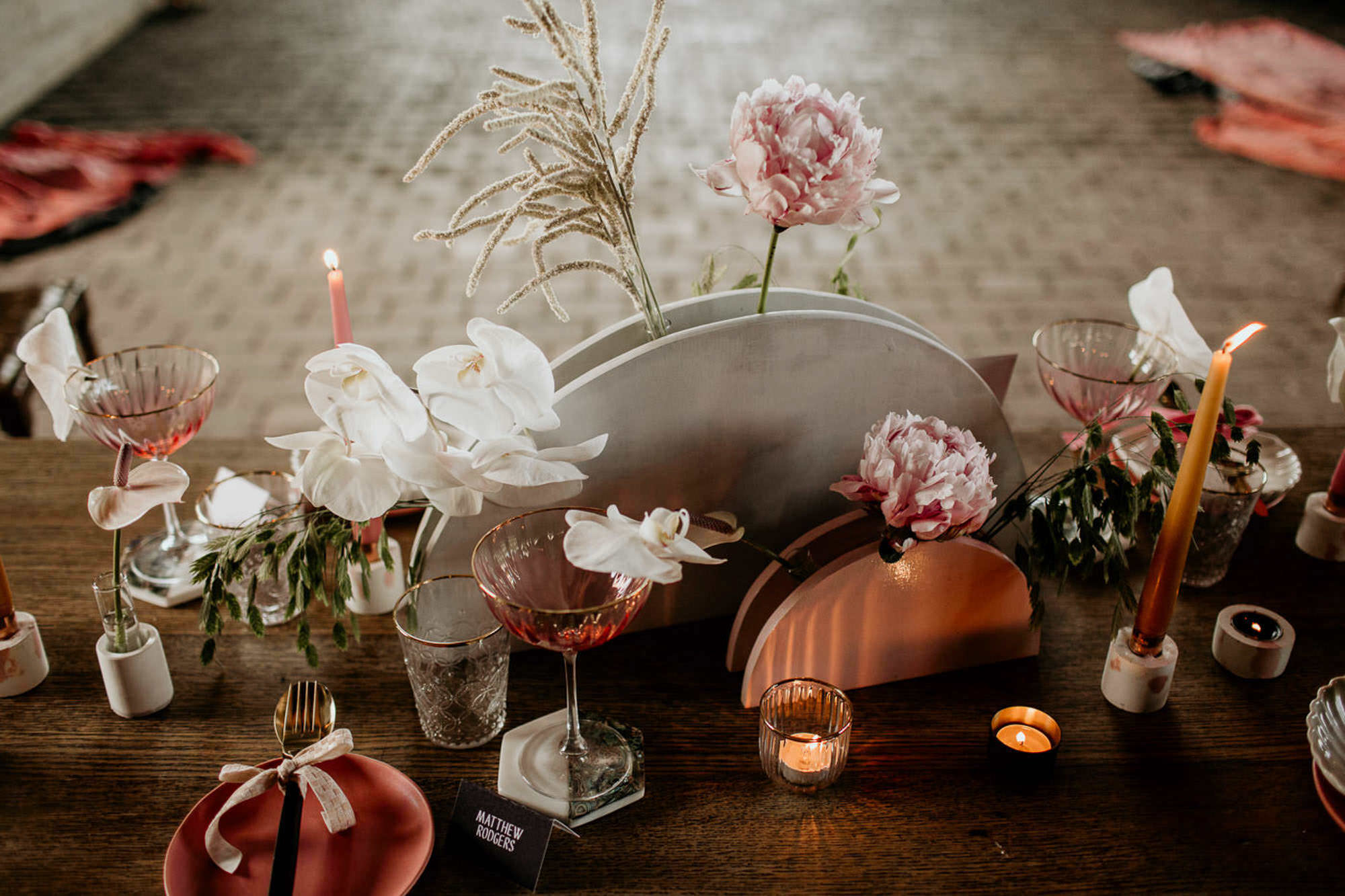 Pink Palms - Luxury Design-led Wedding Planning