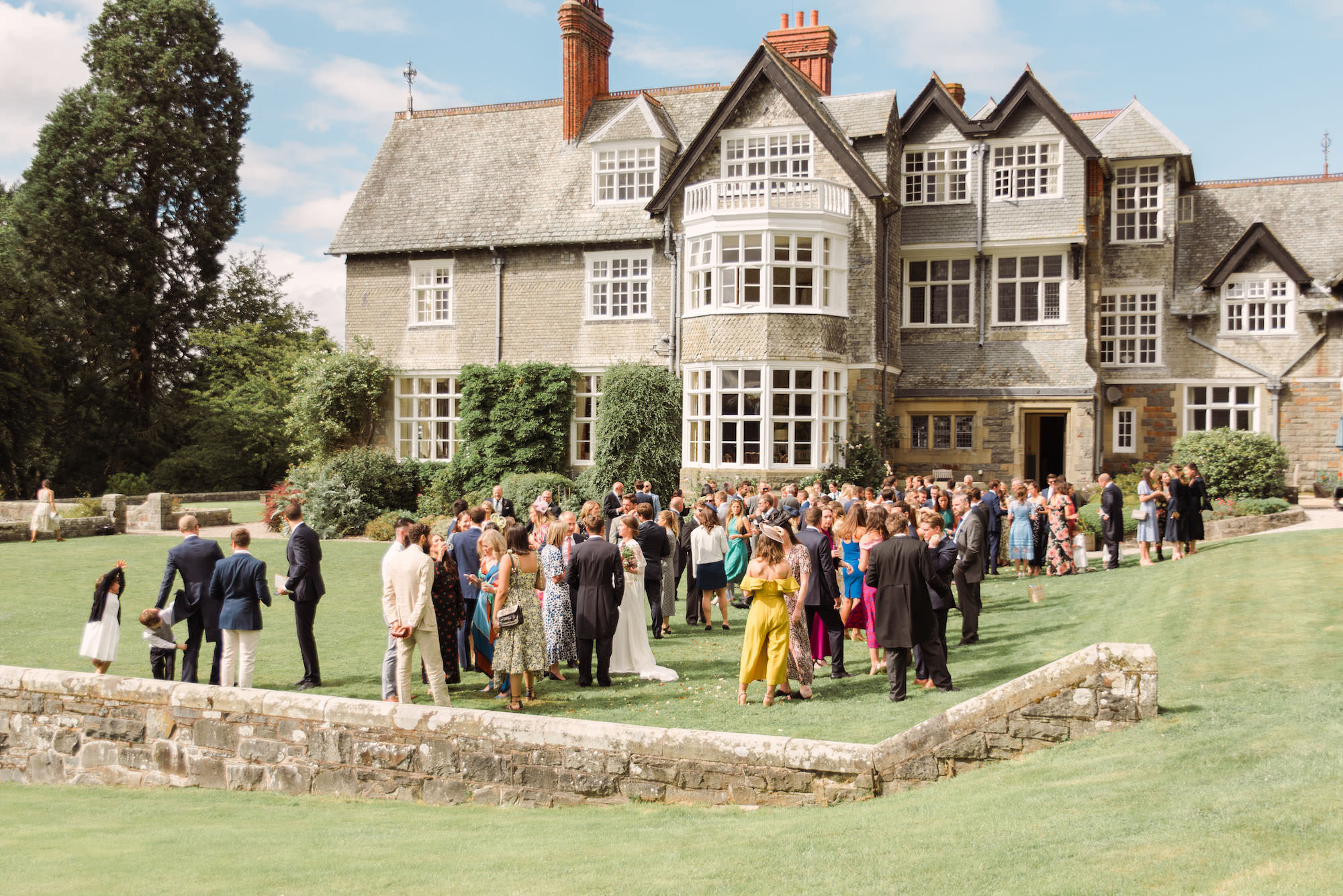 Plas Dinam Country House - Wales Wedding Venue
