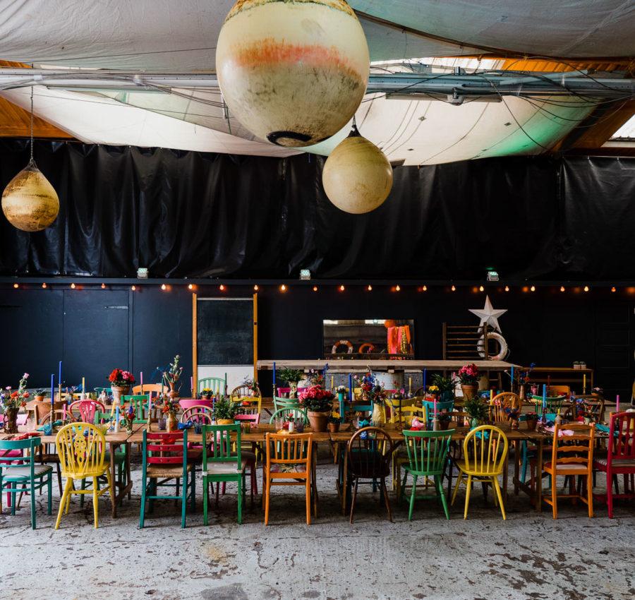 Purple Door Props - Eclectic, colourful Wedding furniture hire
