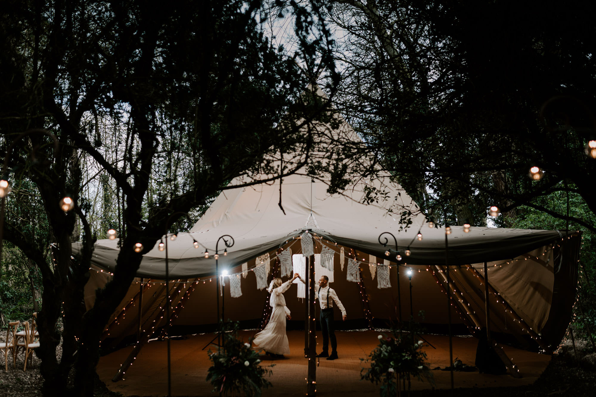 Serentipi - Yorkshire Wedding Tipi Hire