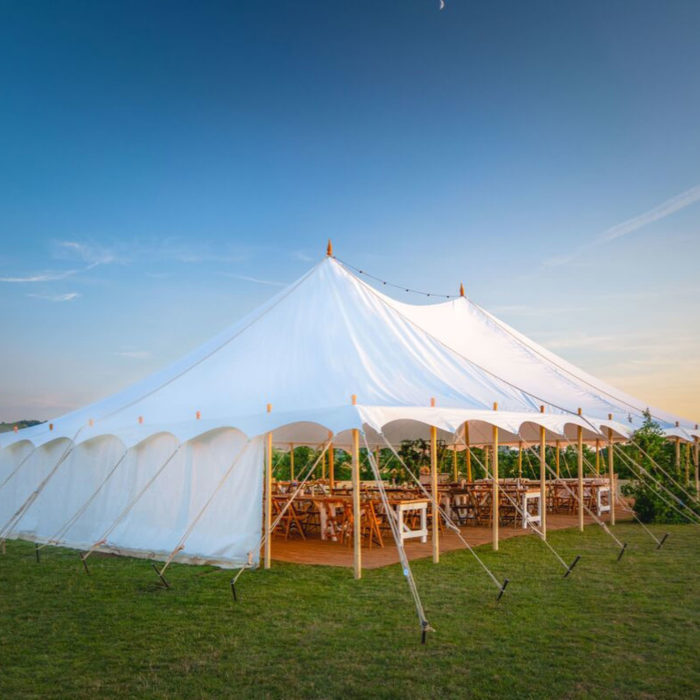 Symposia Marquees - UK pole wedding marquees