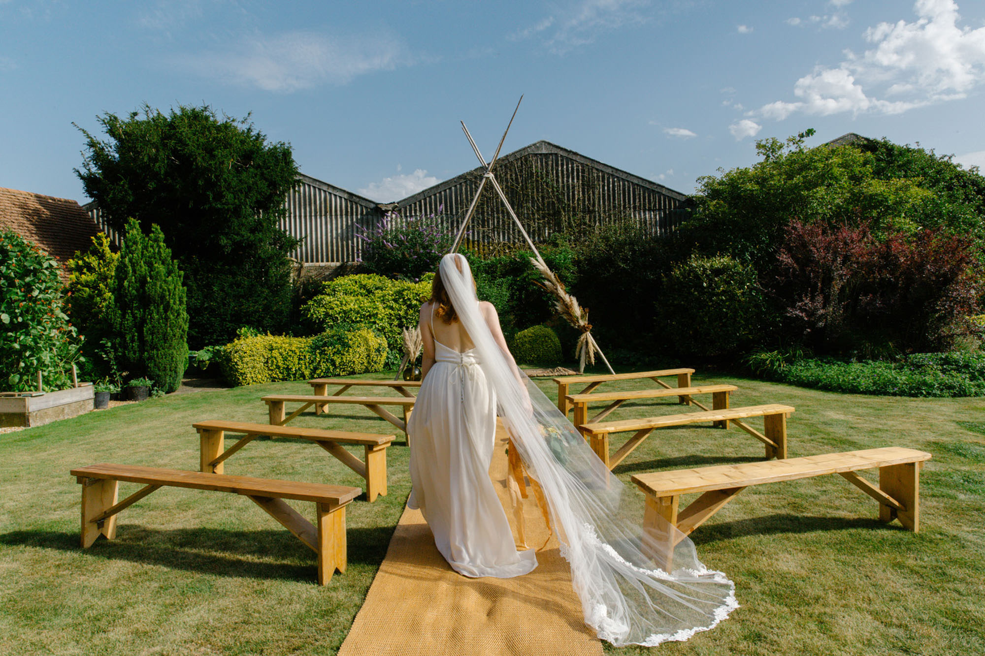 The Gardens at Polehanger - Bedfordshire garden wedding venue