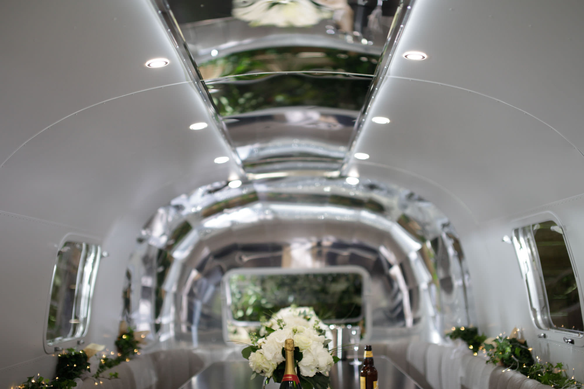 the Mobile Room - Hire a 1974 Airstream for your wedding