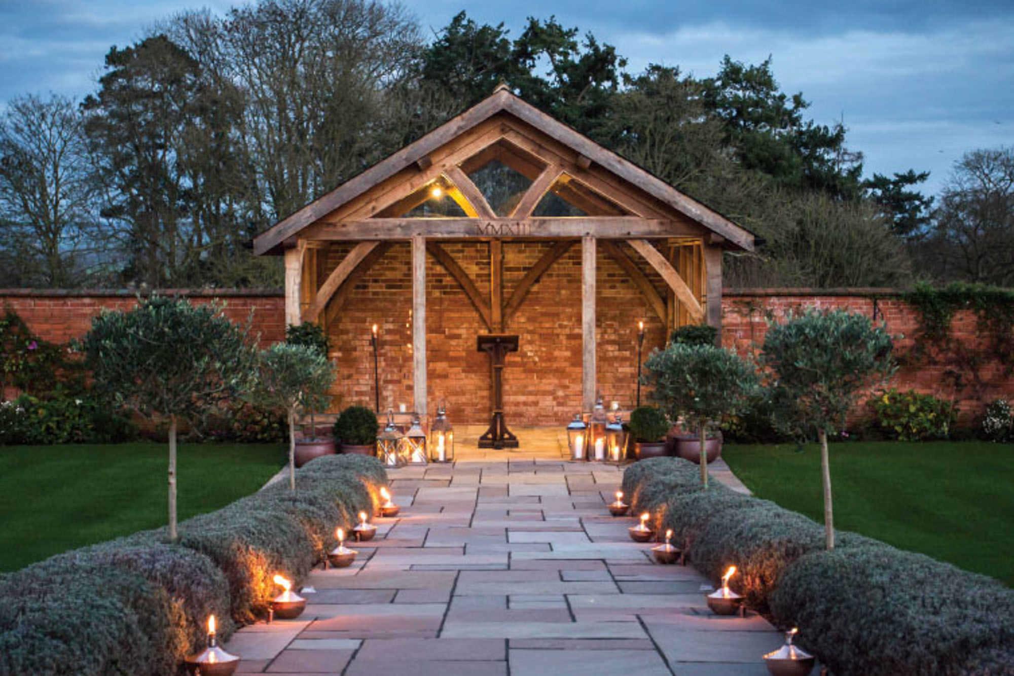Upton Barn + Walled Garden - Devon Wedding Venue - South West
