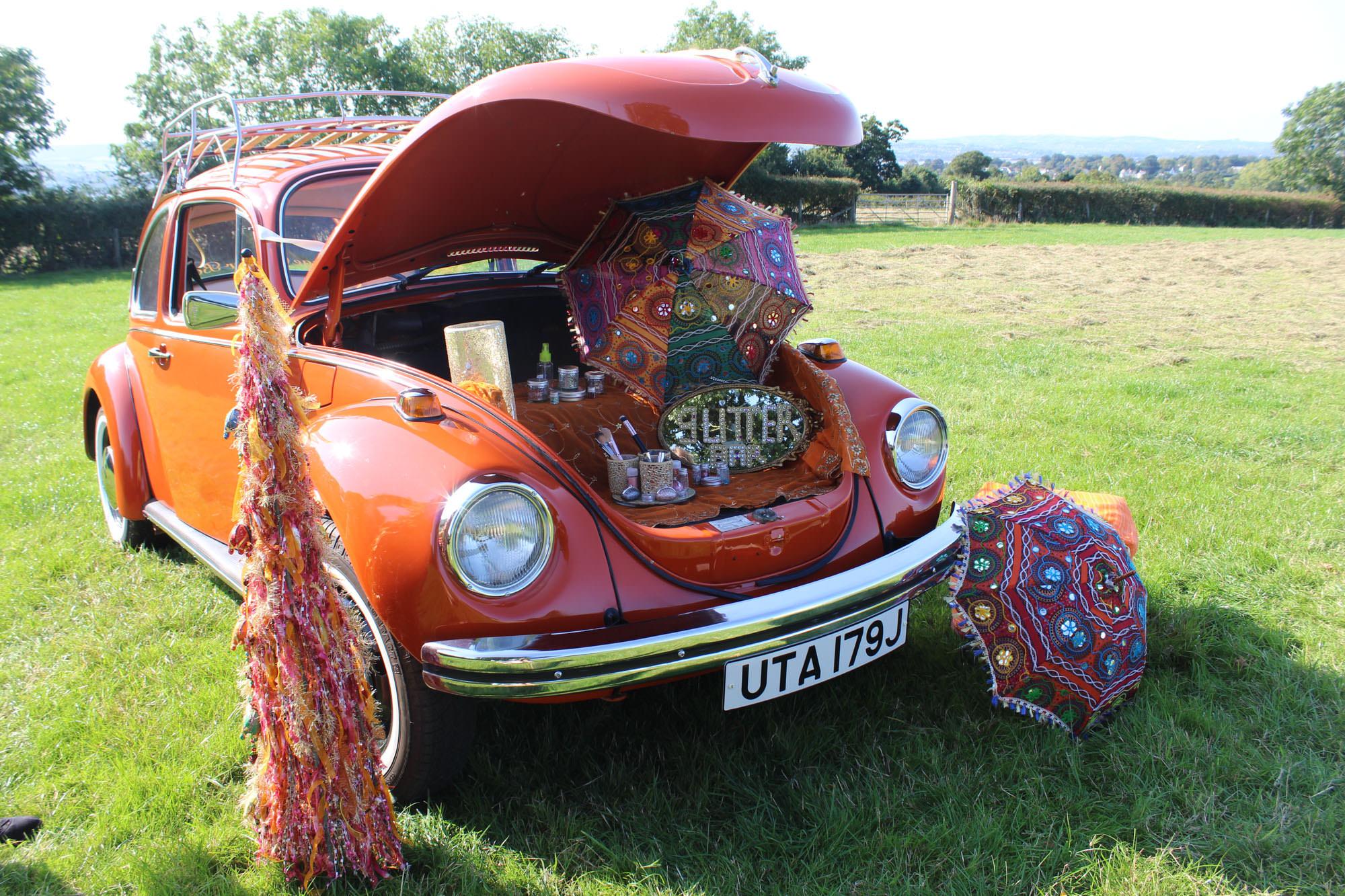 Vintage Camper Booths - Wedding VW campervan for hire