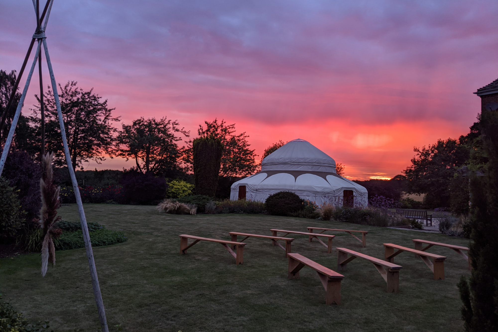 The Gardens at Polehanger - Bedfordshire wedding venue