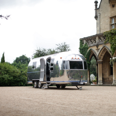 The mobile room - airstream hire for weddings