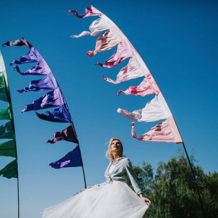 Event Flag Hire - Festival Flag HIre for weddings and events