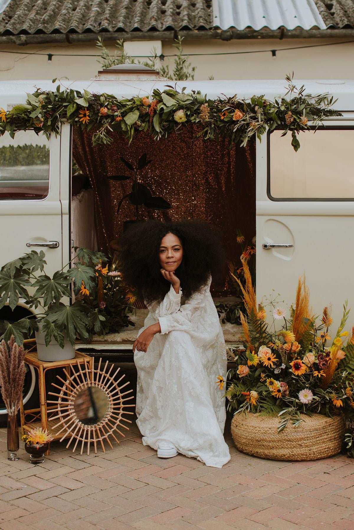 Free-spirited + bohemian wedding inspiration at Stratton Court B