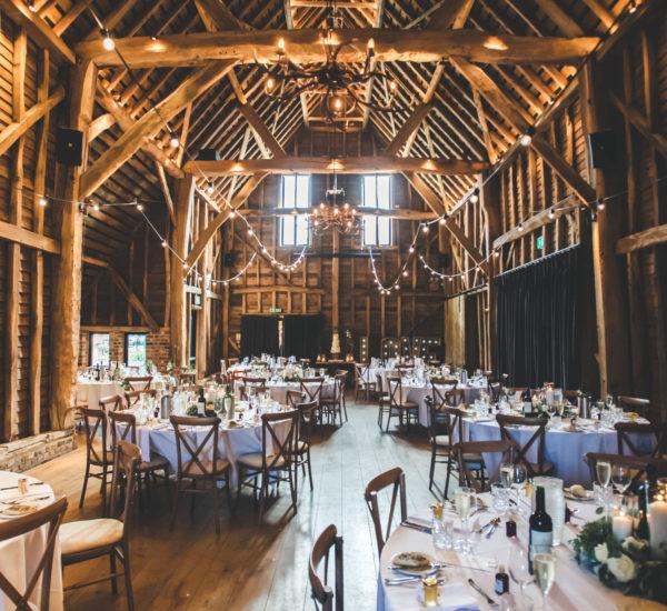 Barns at Redcoats - Luxury Hertfordshire Wedding Barn